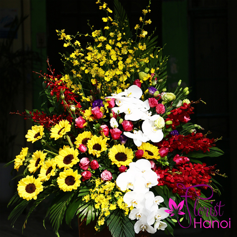 Flowers delivery service in Hanoi Vietnam