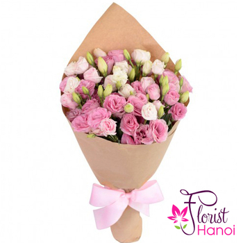 Send Pink lisianthus flowers to Hanoi