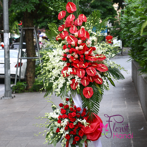 Grand opening congratulation flowers delivery Hanoi