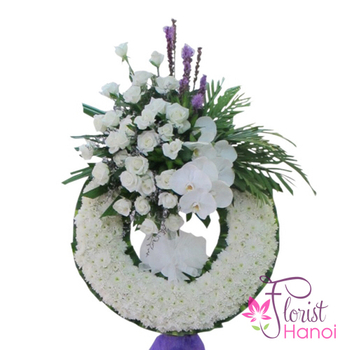 Funeral flowers delivery fast in Hanoi Vietnam