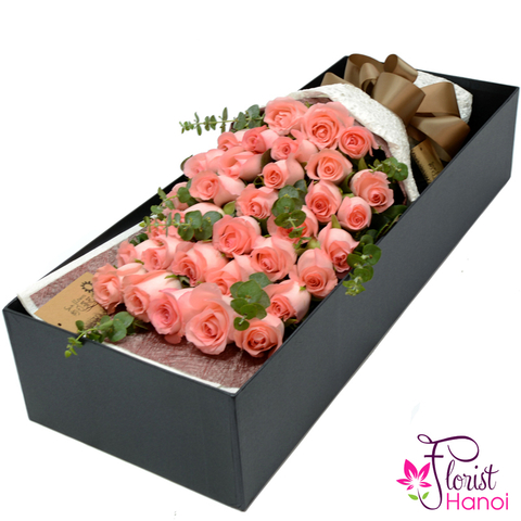 Send boxed flowers to Hanoi city