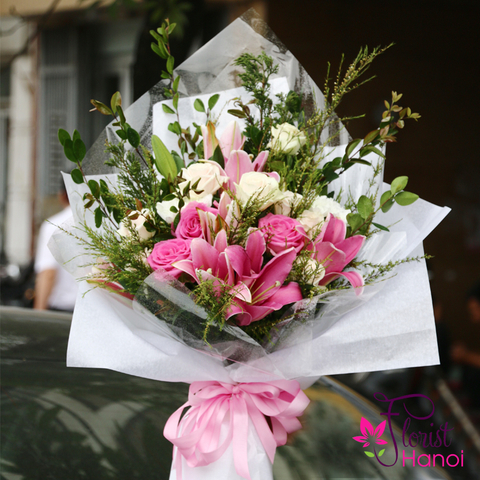 Bouquet flowers order online in Vietnam