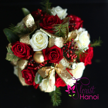 Christmas flower gift delivery