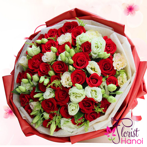 Send Christmas bouquet to Hanoi