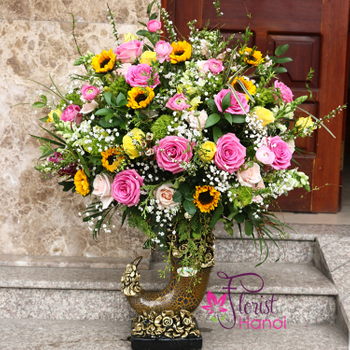 Send flowers to Hanoi with best Flower Shop
