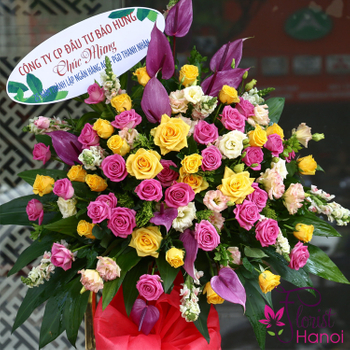 Hanoi grand opening flowers online free delivery