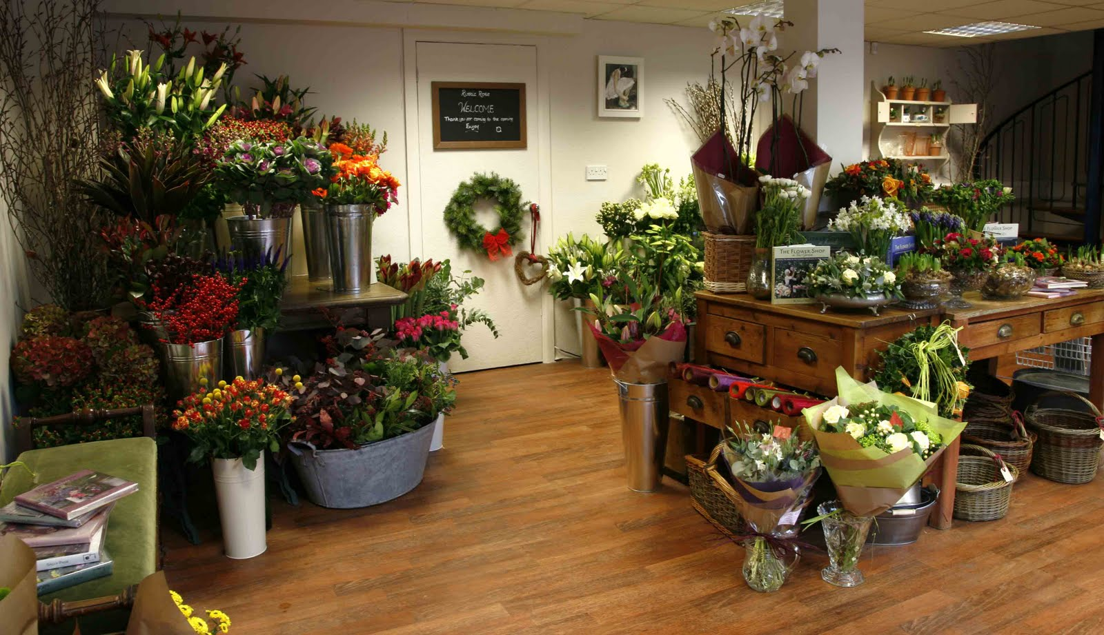 getting more customer into flower shop