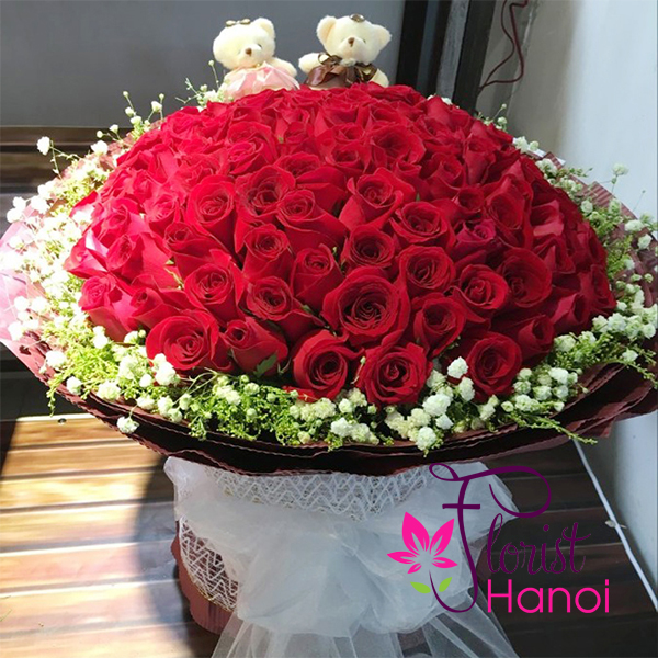 Send Valentines Day Flowers To Hanoi, Vietnam