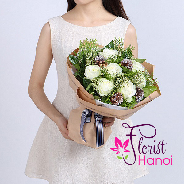 Christmas flowers with free Hanoi delivery