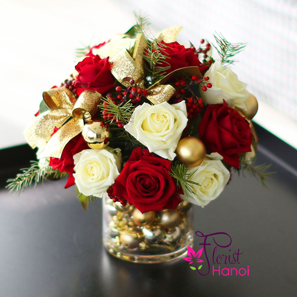Christmas flowers delivery Hanoi online