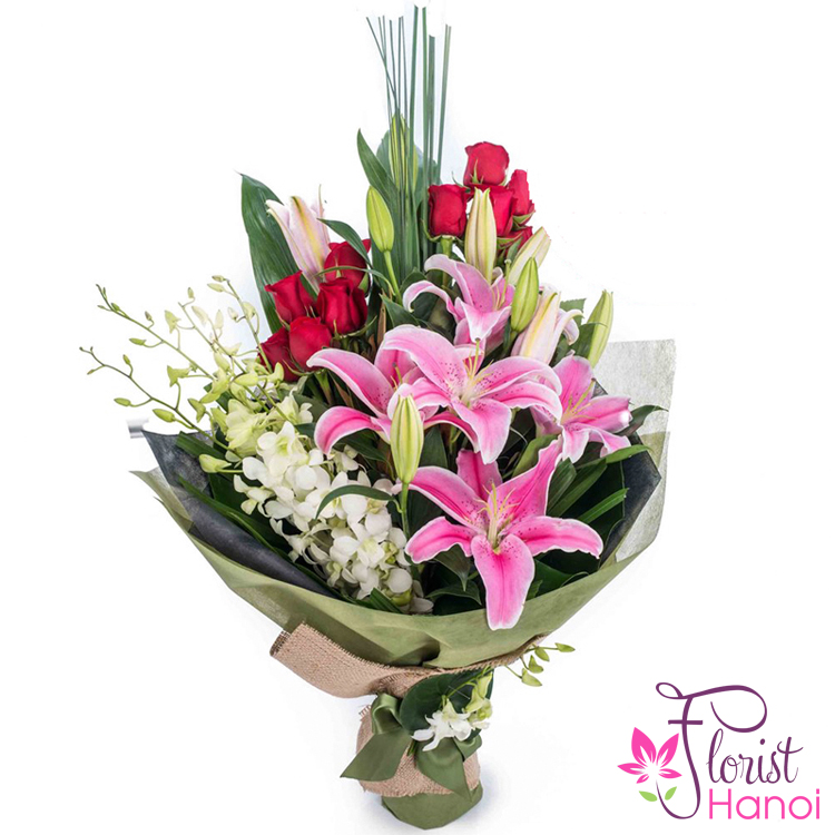Birthday Flowers And Gifts Delivered Hanoi