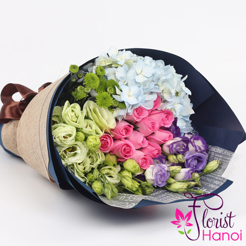 Buy love flowers bouquet online FREE ship