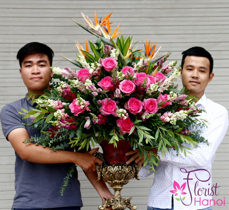 buy vip flower at hanoi florist