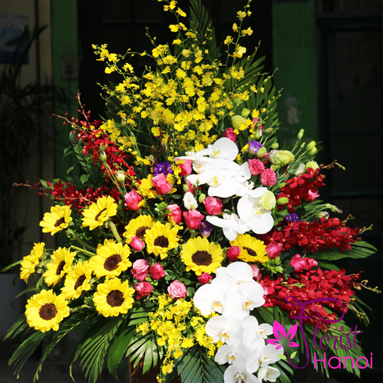 Flowers delivery service in Saigon