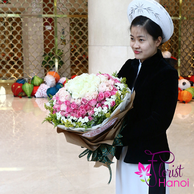 New collections of flowers in Hanoi