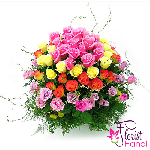 Free delivery flowers to vietnam order now