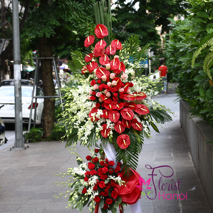 ​Grand opening congratulation flowers free shipping to Hanoi