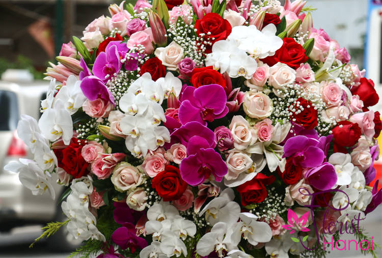 Hanoi florist shop same day delivery
