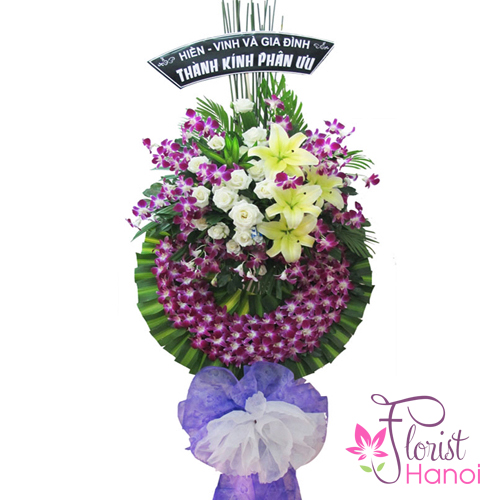 Hanoi sympathy flowers free delivery online