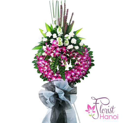 Hanoi sympathy flowers next day delivery online