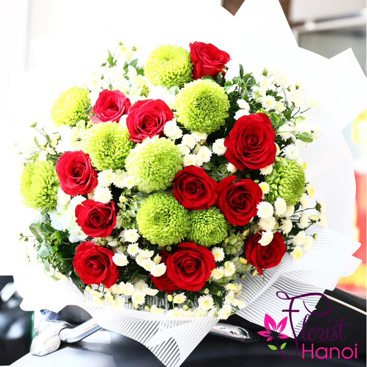Love flowers delivery in hanoi city