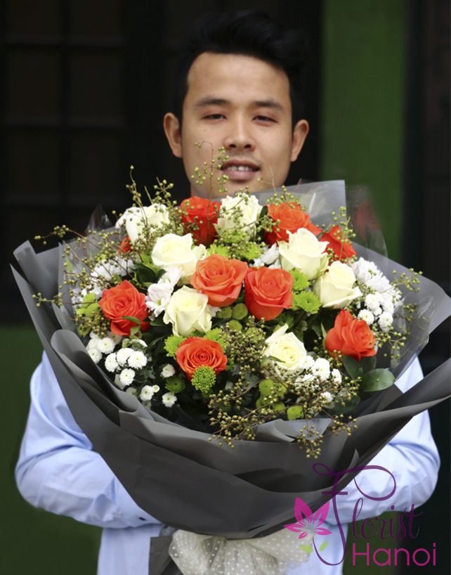 Send flowers to Hanoi payment online security