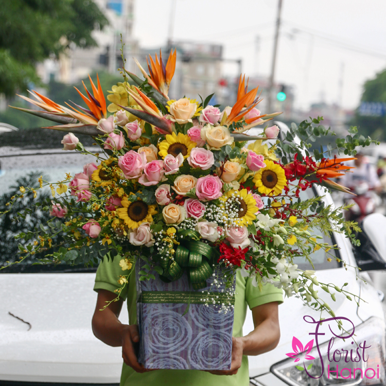 Send best flowers to Hanoi online