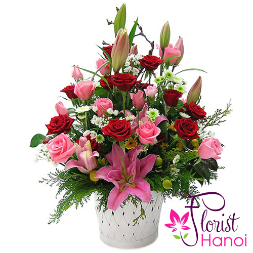 Send love flowers to Tan binh District Saigon