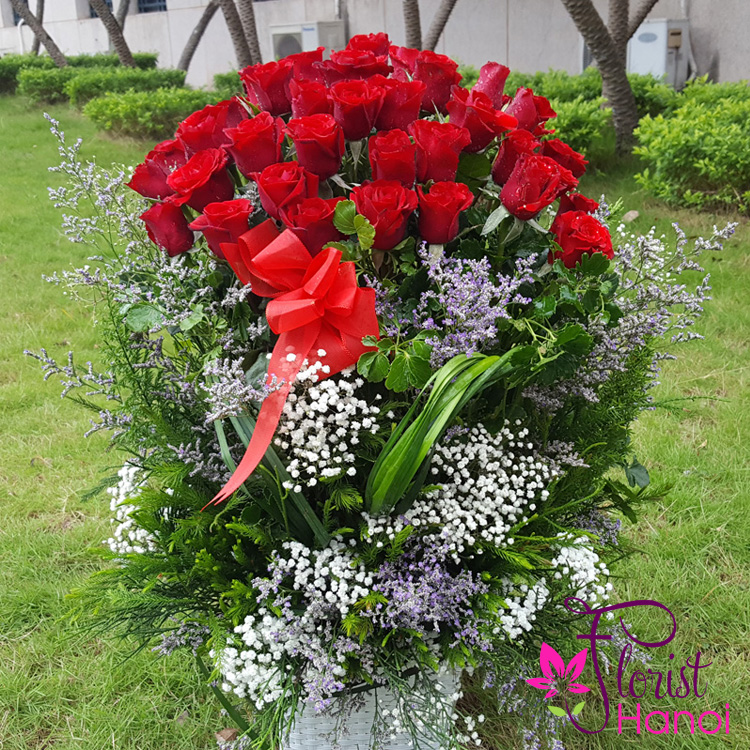 Send love flowers to vietnam
