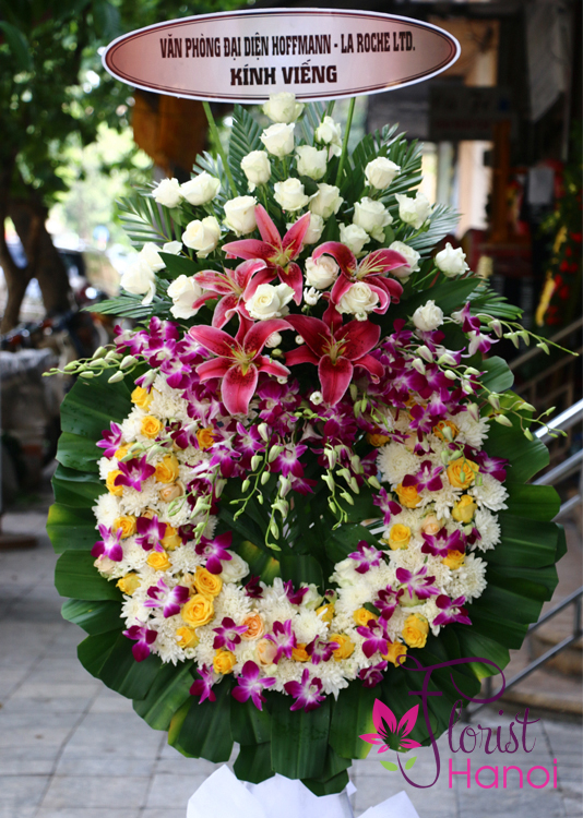 send sympathy flowers to hanoi