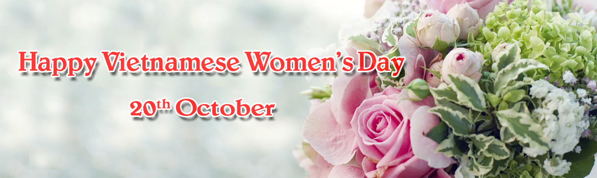 Send flowers to Hanoi on Vietnamese Women's day 20th October