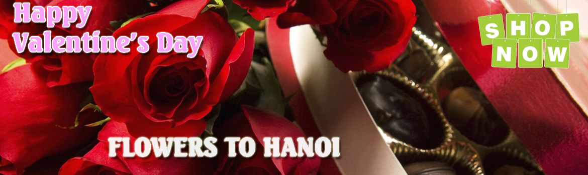 Send flowers on valentines day to Hanoi