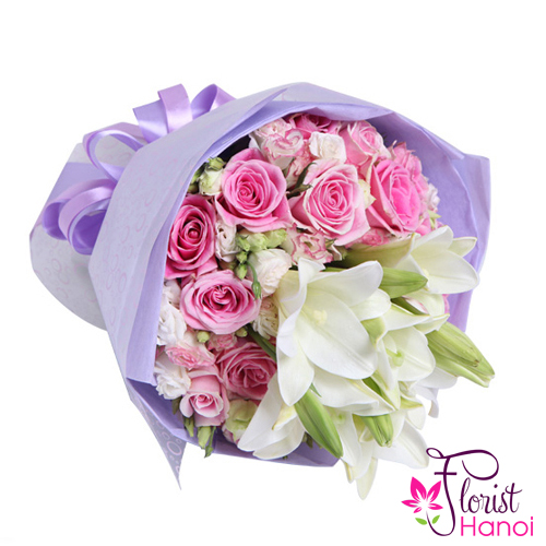 Send beautiful flower bouquet to Hanoi